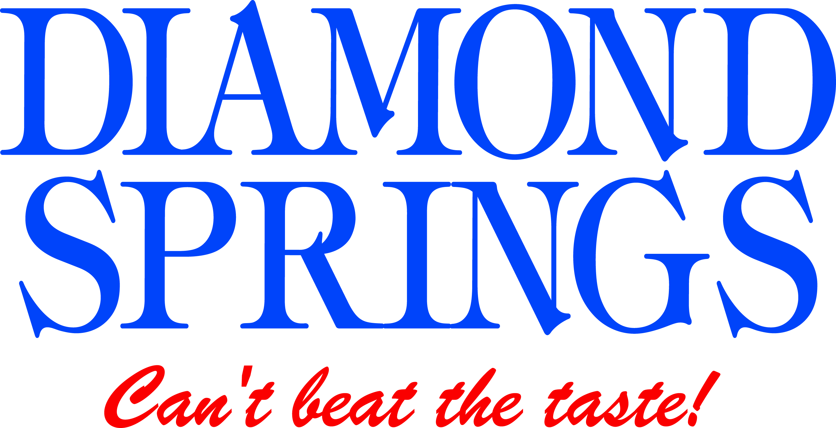 Sponsor Diamond Springs Water