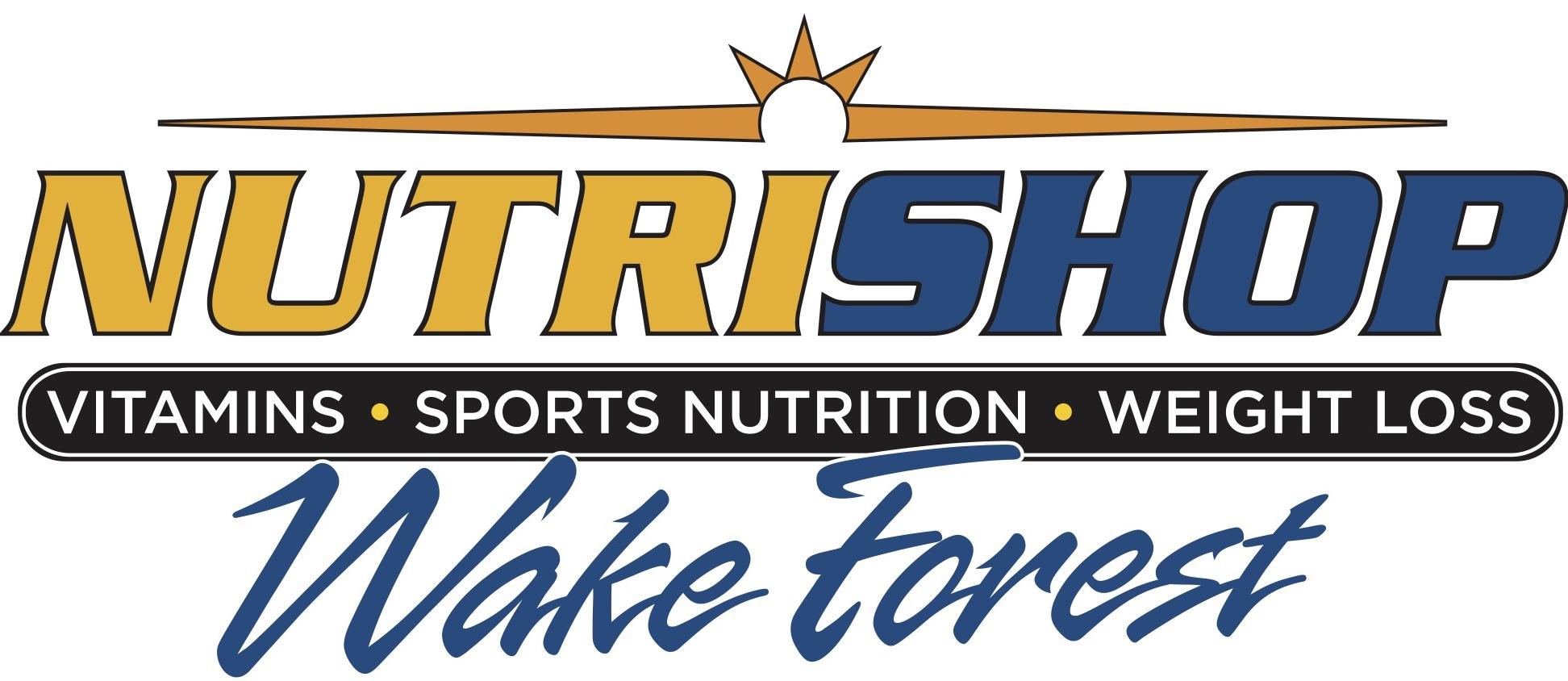 Sponsor Nutrishop Wake Forest