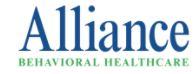 Sponsor Alliance Behavior Healthcare