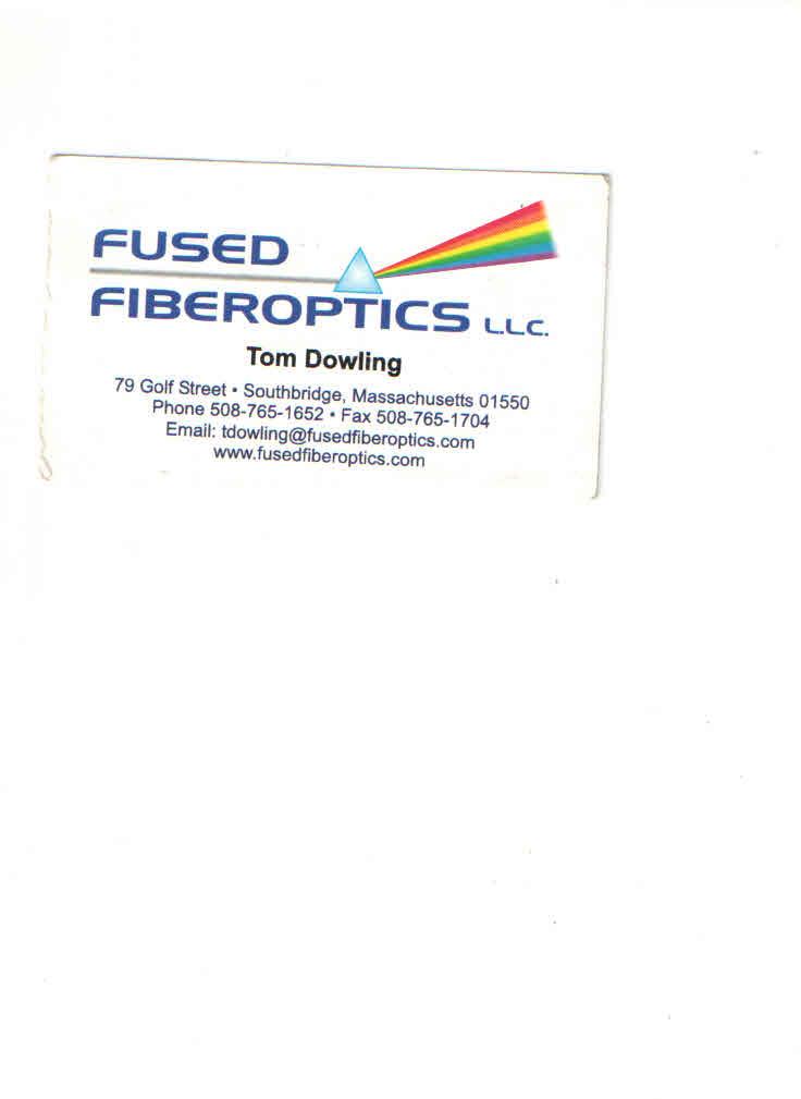 Sponsor Fused Fiberoptics