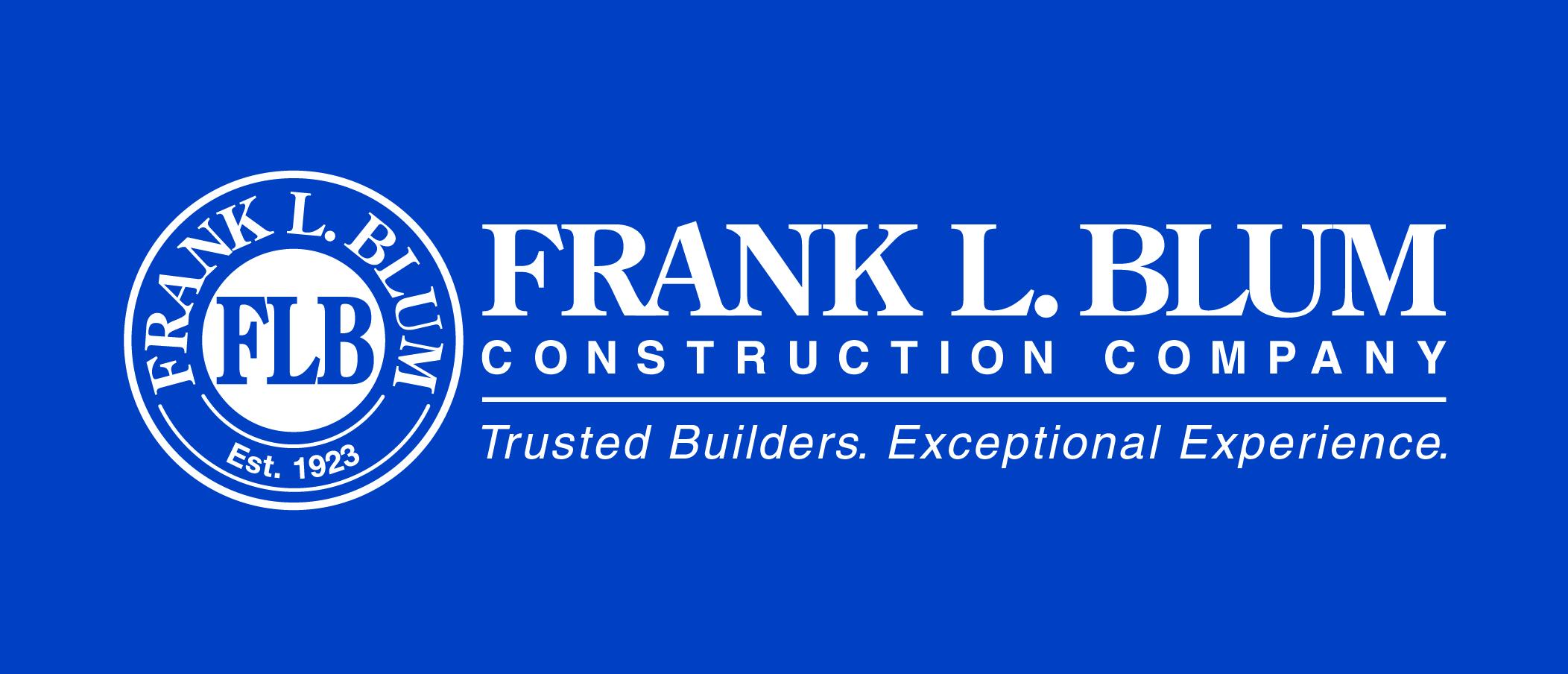 Sponsor Frank L. Blum Construction Co.