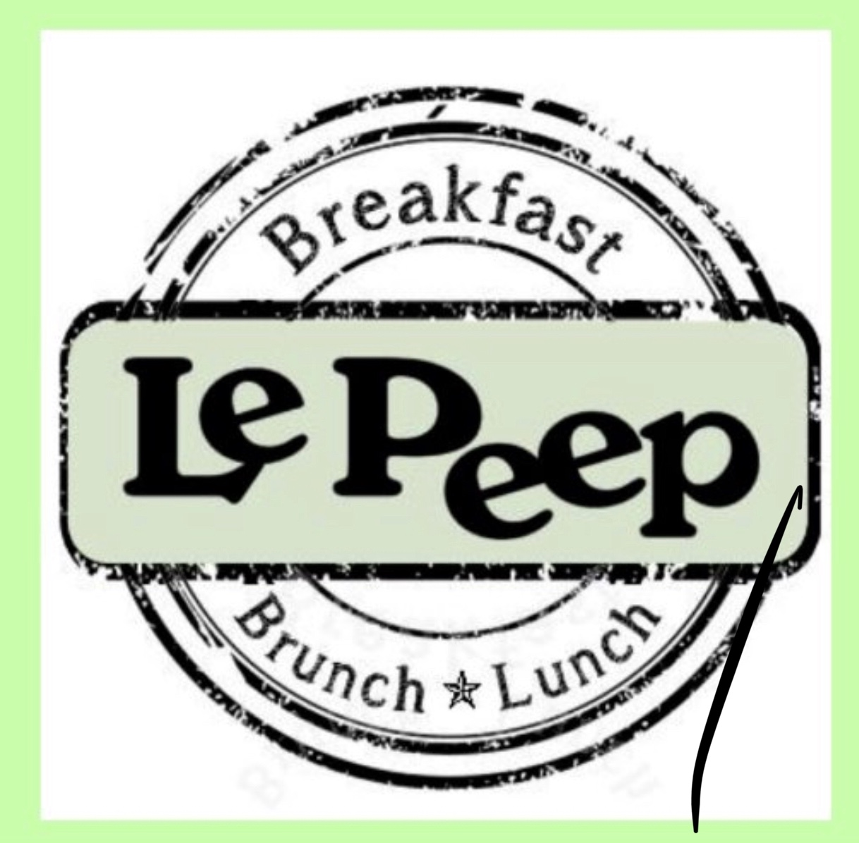 Sponsor Le Peep