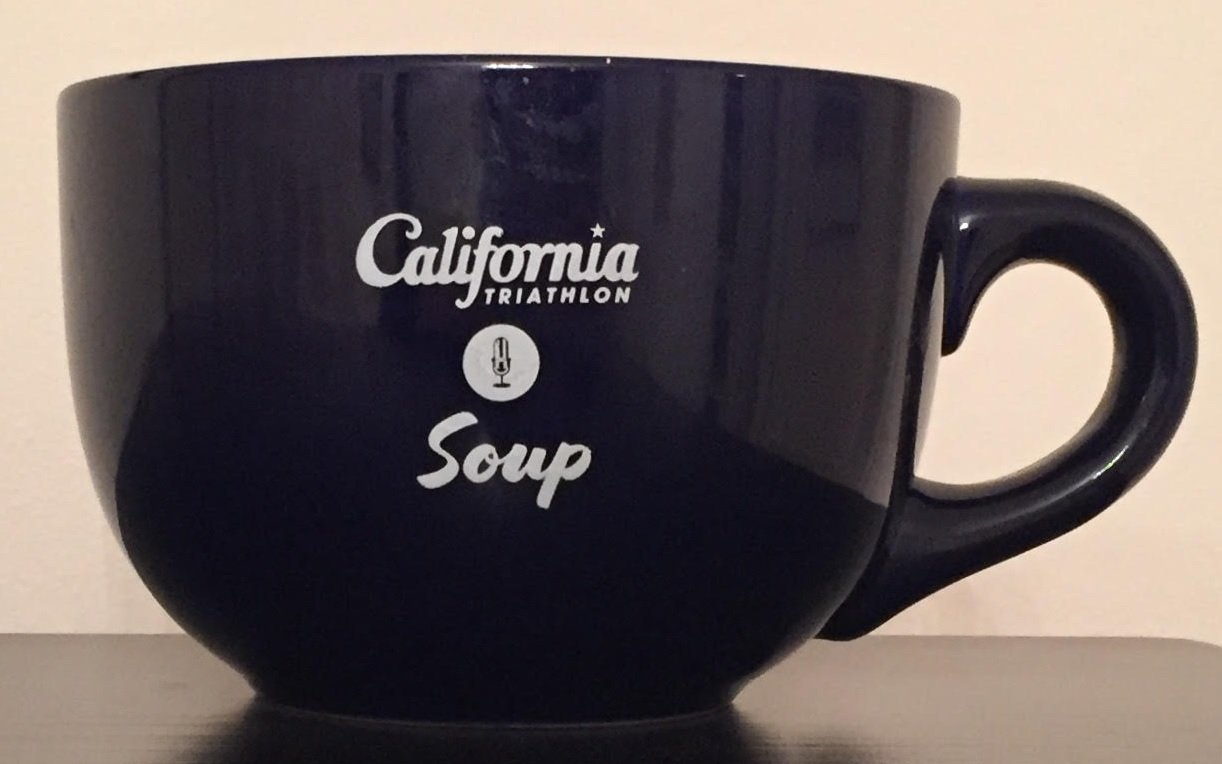 23 ounce California Triathlon Soup mug